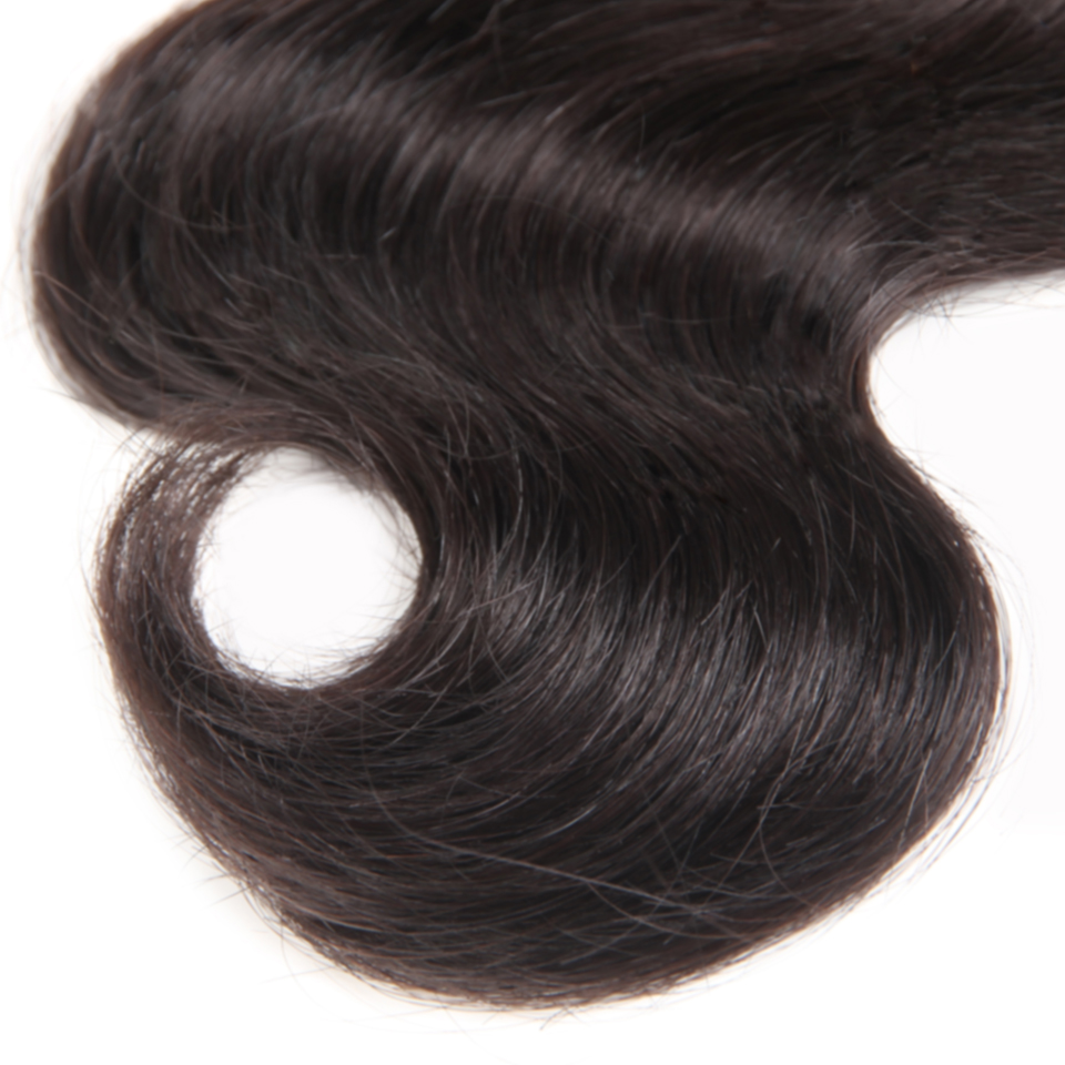 Fashion Plus Clip en Extensiones de cabello humano remy Body Wave - Cabello humano (blanco) - foto 5