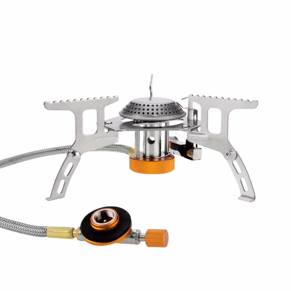 Outdoor Portable Gas Stove Camping Equipment Hiking Picnic ...