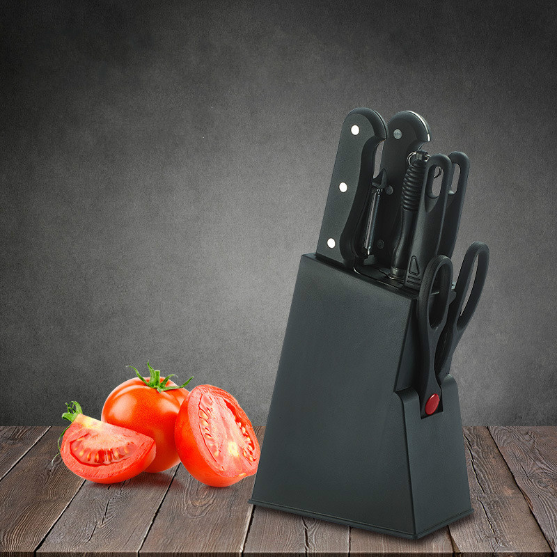 8 unids/set raspador pelador de acero inoxidable cuchillo de cocina juego de cuchillos de cocina cuchilla juegos de cuchillos de cocina ZP01041613
