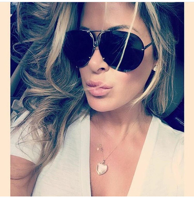 2018 Clear Shades Women Luxury Brand Square Sunglasses Chic Unique Eyewear Pink Red Sun Glasses Female Sexy Aviato Black in Women 39 s Sunglasses from Apparel Accessories