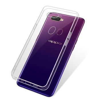 For Oppo A7 Transparent Full Body Protective TPU Case For Oppo A7 R15x A7x F9 F7 F5 Silicone Soft Slim Back Phone Cover Case