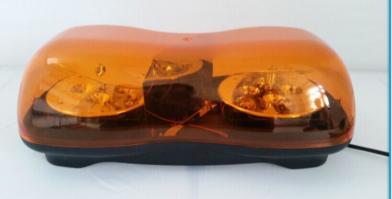 High quality 40cm dc9-32v 24w led car rotate warning lights,emergncy light for police ambulance fire,