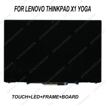"new for LENOVO THINKPAD X1 YOGA 20JE 14.0"" FHD 1920*1080 LCD TOUCH SCREEN PANEL REPLACEMENT LED+Digitizer+ bezel+board DISPLAY"