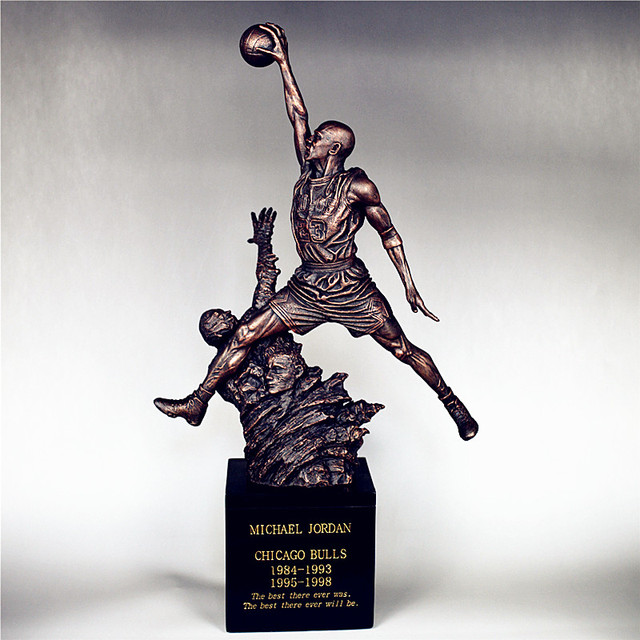 Basketball Star Chicago BULLS No.23 Michael Jordan Resin Figure Statue Toys  Collection Model Gift b8447caf8