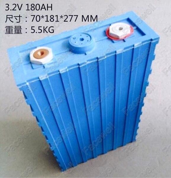 Great Lifepo4 Battery 180ah 3.2v Cell Lifepo4 180ah
