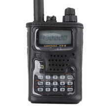 Applicable to YAESU VX6R walkie talkie VX-6R two way radio leather case CSC-91 case