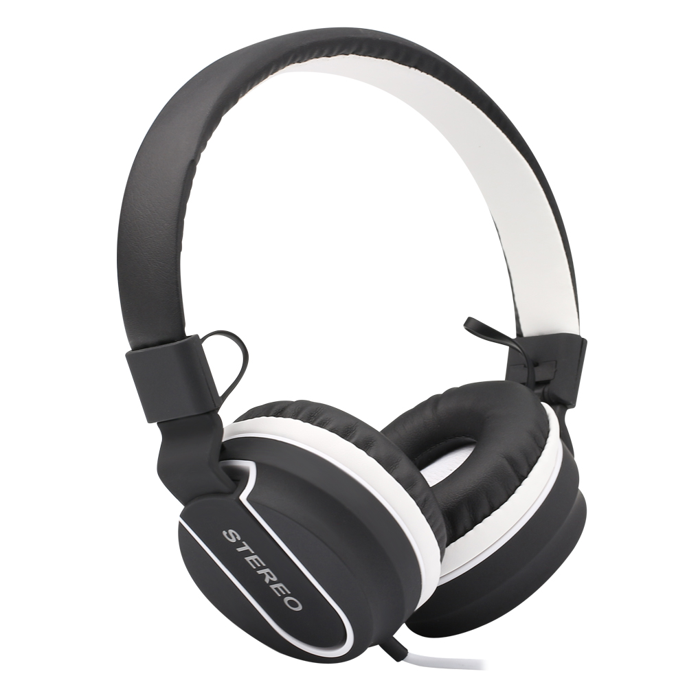 Protable music bass Headphones Headsets for Phone Computer PC Mp3 HiFi Gaming Earphones and Headphone Foldable Wired wholesale kst x2 super bass professional monitoring headphones good quality hifi headsets earphones universal 3 5mm headphone without mic