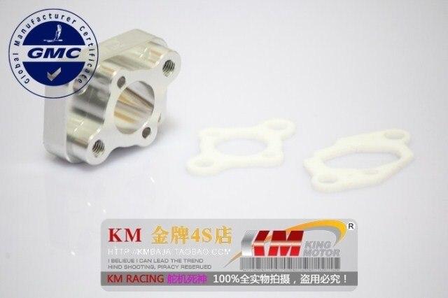 Aluminium Spacer admission avec mise à niveau joints unique 23cc à 30.5cc cy, Zenoha, Roi moteur, Rovan moteurs