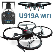 Rc Drone U919A Updated version dron UDI U919A Remote Control Helicopter Quadcopter 6-Axis Gyro Wifi FPV HD Camera VS X400/X5SW