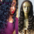 8A Full Lace Human Hair Wigs Loose Curly Wave Lace Front Wigs Brazilian Virgin Hair Glueless Full Lace Wigs For Black Women