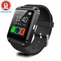 Smartwatch bluetooth smart watch u2 para iphone ios android telefone inteligente desgaste relógio wearable dispositivo smartwach pk gt08 dz09