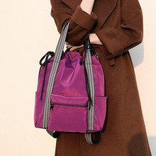 Hot Sell Multifunction Girls Shoulder Bags Brand Oxford Women Handbags Large Capacity Mummy Hand Lightweight Tote Sac
