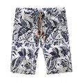 Plus Size M-5XL 2017 Verão Calções Marca de Moda de Algodão Casuais Grande Tamanho Dos Homens Shorts Soltos Praia Shorts