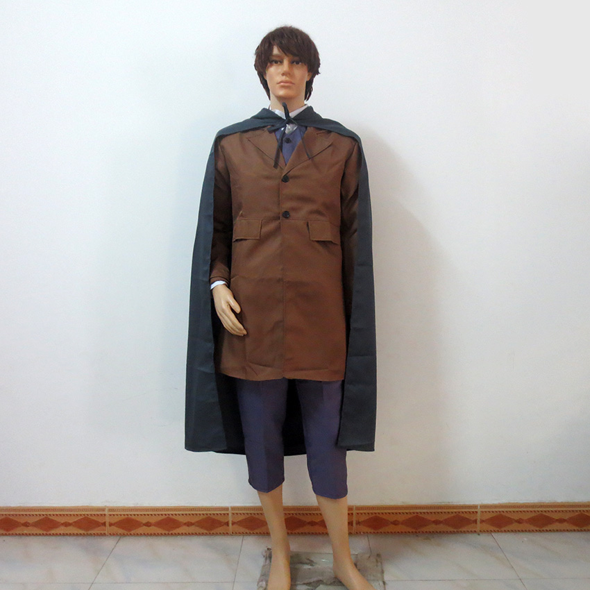 The Lord of the Rings Cosplay The The hobbit Frodo Baggins Christmas Halloween Uniform Outfit Cosplay Costume Customize Any Size