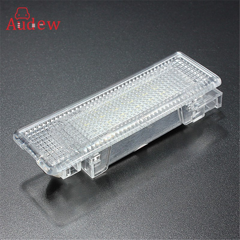 12V 5W White LED Lamp Car Trunk Luggage Compartment Light Cargo Area Lamp For VW Golf Jetta 6000K for volkswagen passat b6 b7 b8 led interior boot trunk luggage compartment light bulb