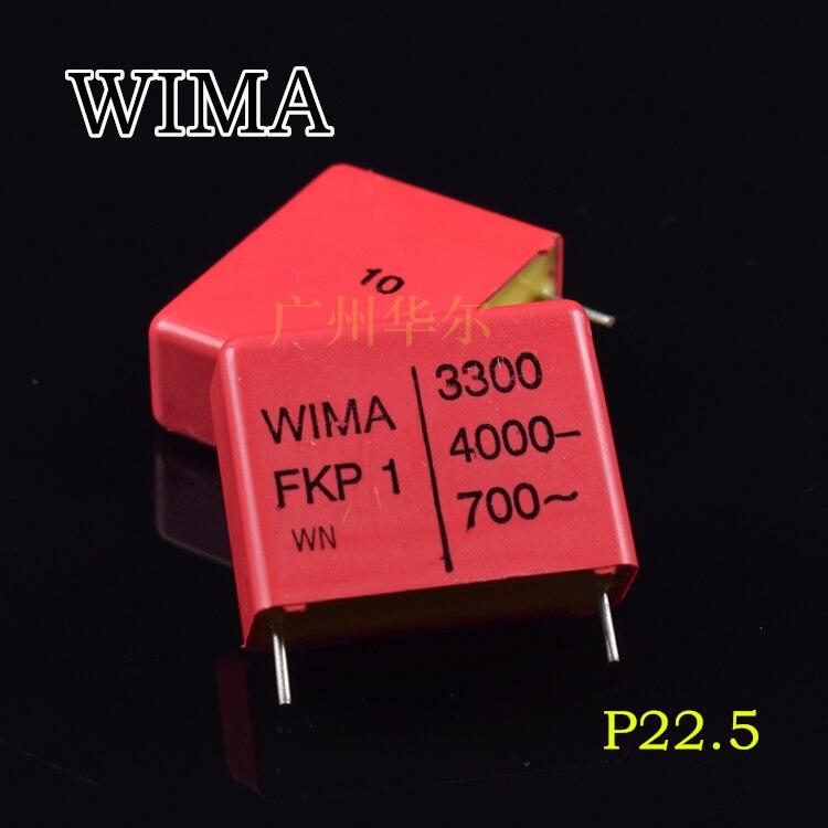 20pcs/50pcs Original licensed Germany WIMA FKP1 3300PF 332 4000V capacitor free shipping20pcs/50pcs Original licensed Germany WIMA FKP1 3300PF 332 4000V capacitor free shipping