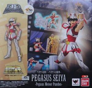 "Image 2 - ""Saint Seiya"" Original BANDAI Tamashii Nations D.D.PANORAMATION / DDP Action Figure    PEGASUS SEIYA   Pegasus Meteor Punches"