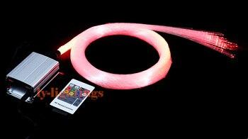 DIY home decoration optic fiber light kit led light pack optical fibres RGB color change wireless RF remote star ceiling light