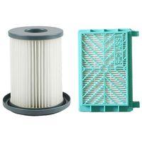 Novo 2 pçs de alta qualidade substituição filtro limpeza hepa para philips fc8740 fc8732 fc8734 fc8736 fc8738 fc8748 aspirador pó|Peças p/ aspirador de pó| |  -