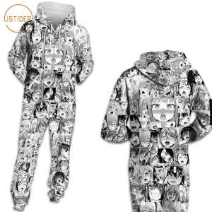 ISTider Harajuku Jumpsuits Hooded Zipper Playsuits Women