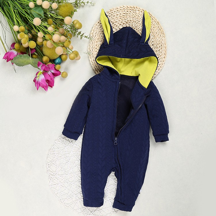 7197dbe64 Bunny Rompers For Baby Boys Girls Cotton Clothes Jumpsuit Children ...