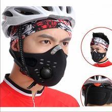 Máscaras Bicicleta Boca-Muffle Desmontar Máscara antipolvo