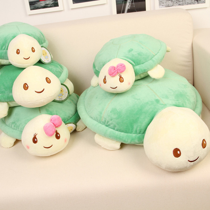 20CM New Cute Kawaii Turtle Plush Toys For Lover Stuffed Animal Baby Kids Dolls Pillow Toys PT043 stuffed toy