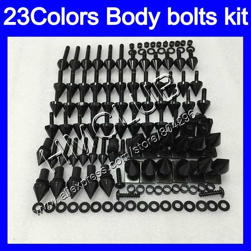 Compleet Kuip bouten kit Voor HONDA CBR600F4 99 00 99-00 CBR600 F4 CBR 600 F4 CBR 600F4 1999 2000 Full Body schroeven Moeren schroef