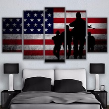 Toptan Satış American Flag Painting Galerisi Düşük Fiyattan Satın