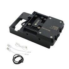 Handy USB GPS Navigation Halterung USB Lade Montieren unterstützung Für BMW R 1200 GS hohe verson fit R1200GS LC/ADV 2013 2018
