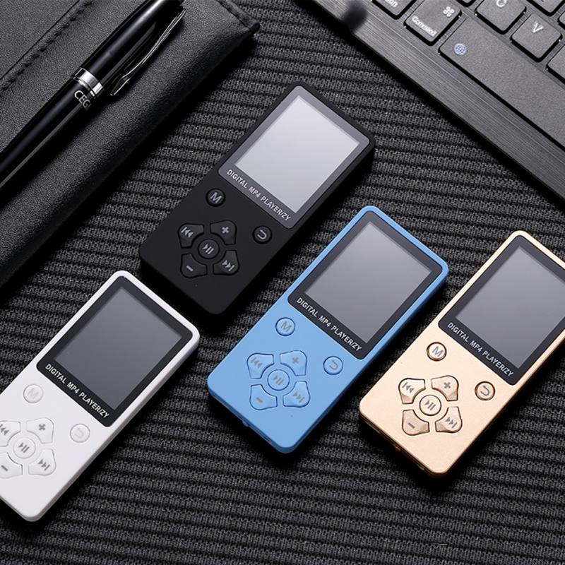 Portable MP4 Player 1.8 Inch TFT Display Walkman Lossless Recorder FM Radio Video Movie Support TF Card Kid Perfect Gift