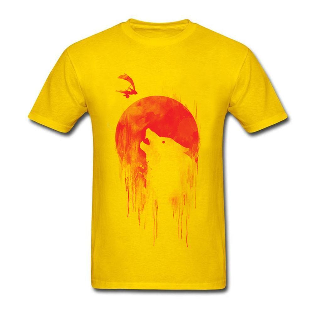 Волк Slayer футболка Для мужчин GEEK Nerd Freak хакер PC Gamer летняя футболка Изделие из хлопка с короткими рукавами футболка Азиатский Размеры