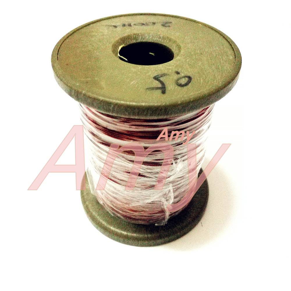 200meters/lot  0.5 QZ-2-155 New Polyester Enamel Covered Copper Wire