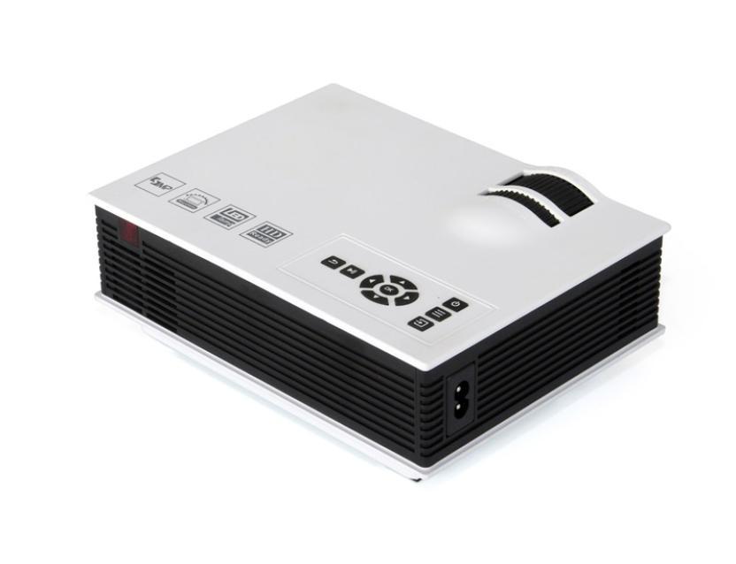 1800 люмен светодиодный мини домашний мультимедийный проектор 1080 P HD USB HDMI видео