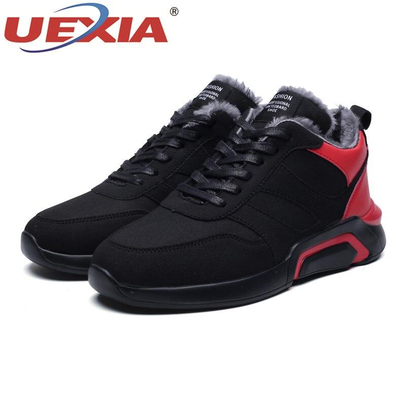 Red Coton Neige black En Épaississement Gray D'hiver De Chaud Air Plein Hommes Chaussures Angleterre Bateaux Peluche Loisirs Outillage black Bottes Uexia qSg1RZwt