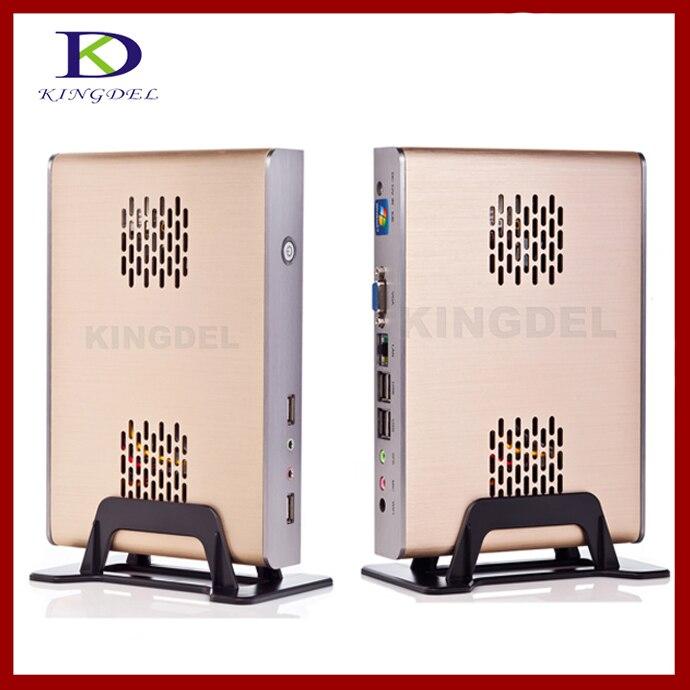 Kingdel ordenador Thin client, Mini pc, estación de la PC con Intel N270 1.60 Gh
