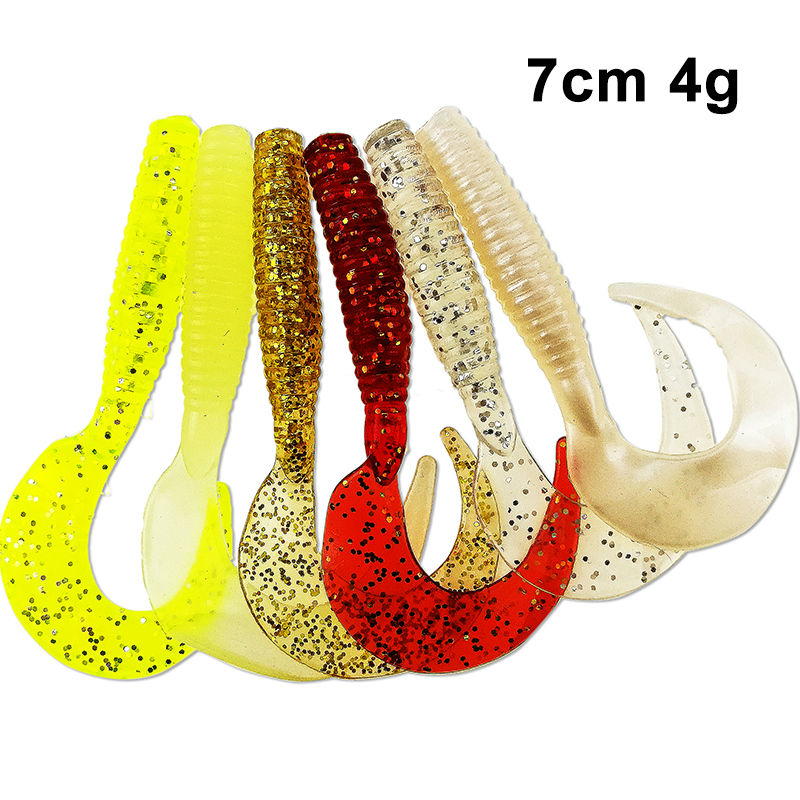 цены 70mm 4g 10pcs/lot Classic Flexible Soft Lures Swimbaits Artificial Bait Silicone Lure Fishing Tackle Fishing Lures