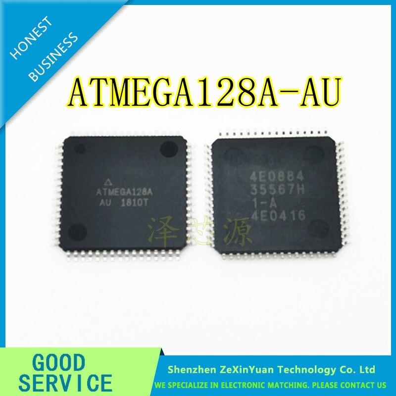50PCS LOT ATMEGA128A AU ATMEGA128A ATMEGA128 QFP 64