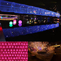 3 x 2M LED Twinkle Lighting 200 LED xmas String Fairy Wedding Curtain Party Christmas Lights