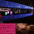 3x2 M LED Del Centelleo Iluminación 200 LED Luces de Navidad Fiesta de navidad de Hadas Cadena Boda Cortina