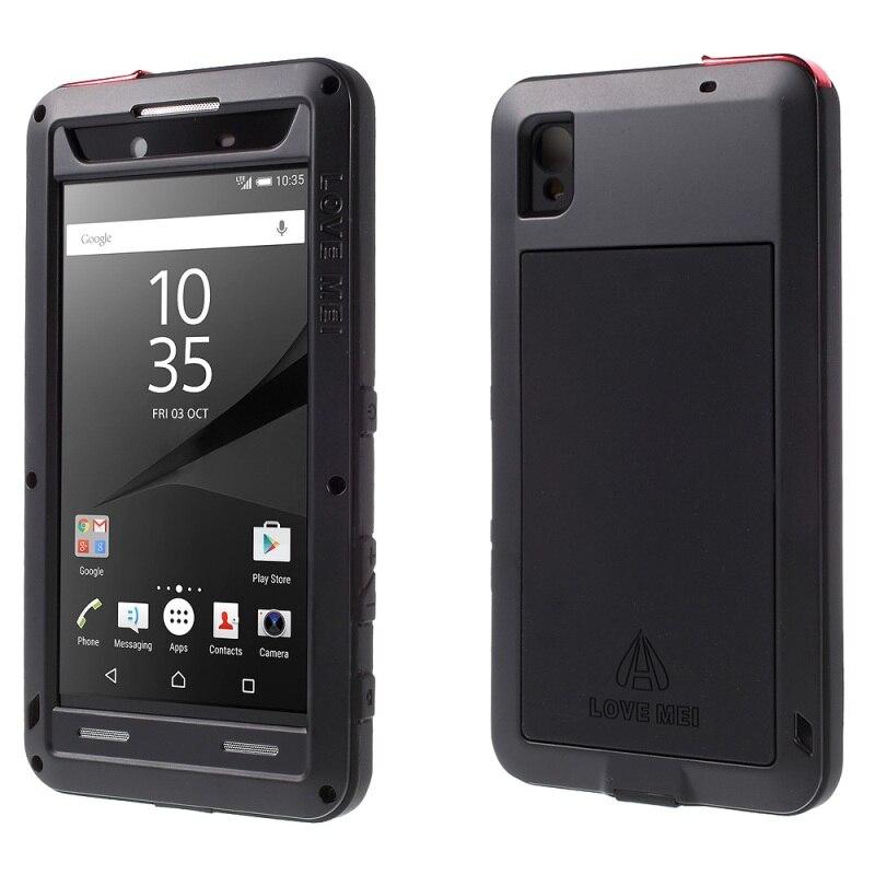 imágenes para AMOR MEI para Xperia Sony Z5 Premium Caso Dropproof Prueba de Golpes A Prueba de Polvo caso para Sony Z 5 Premium/dual Cubierta Del Teléfono Móvil bolsa