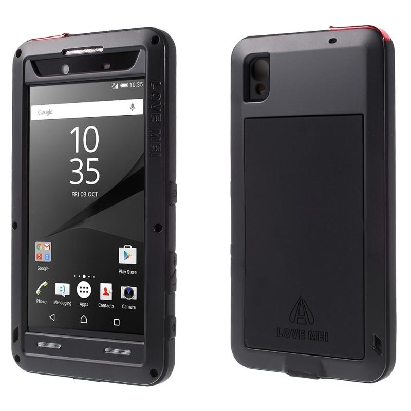 Цена за ЛЮБОВЬ МЭЙ для Sony Xperia Z5 Премиум Чехол Dropproof Противоударный Пылезащитный чехол для Sony Z 5 Premium/двойной Крышки Мобильного Телефона мешок