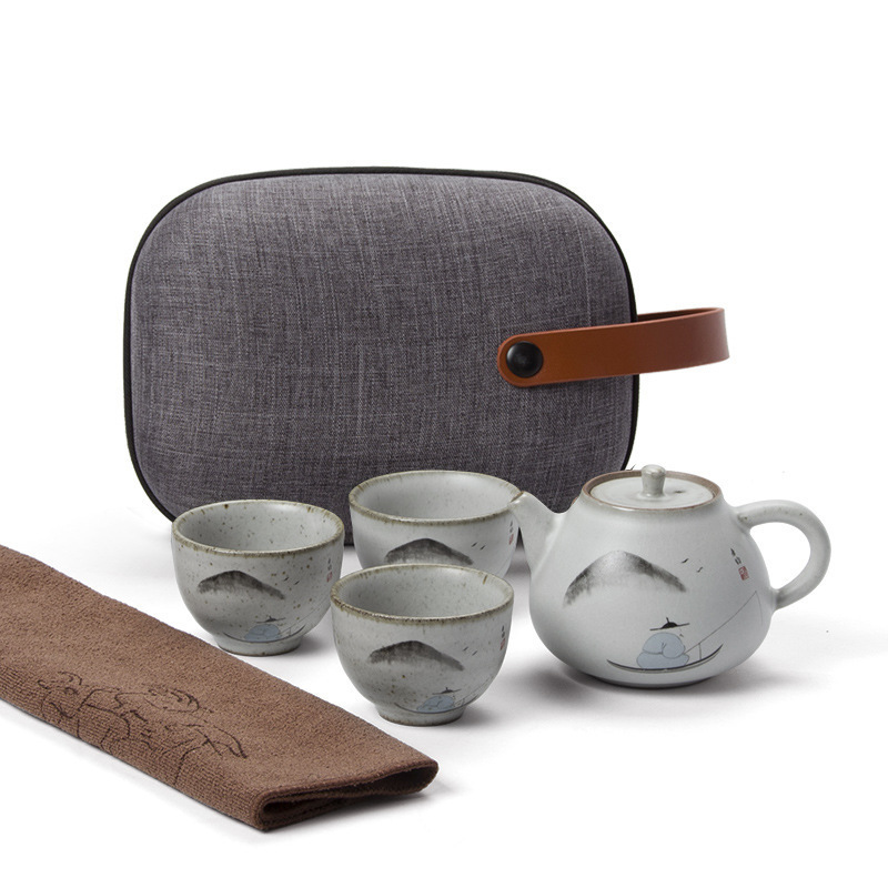 Loyal And Obedient At Business Affairs Gift Ru A Pot Of Two Cup Travel Teacup Hand Kung Fu Tea Have Suit Japanese Style TeapotLoyal And Obedient At Business Affairs Gift Ru A Pot Of Two Cup Travel Teacup Hand Kung Fu Tea Have Suit Japanese Style Teapot