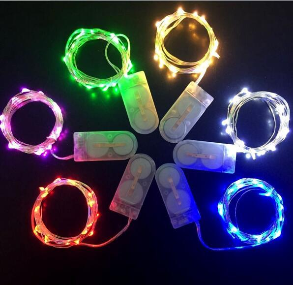 (10 PCS/LOT) Free shipping- Copper wire 20 LEDs micro fairy string light /LED seed light/ LED Fairy light for Eiffel vase