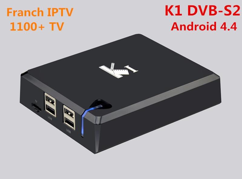 Franch Canal+ IPTV 1100+ channels K1 Android DVB-S2 satellite Decoder  BT Sport Germany UK, Arabic  Amlogic S805 Quad Cortex-A9r nirmal singh japinder kaur and amteshwar s jaggi k channels in cerebroprotective mechanism of ischemic postconditioning