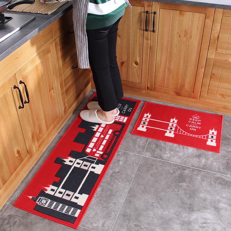 Modern Kitchen Mat aliexpress : buy 2pcs modern kitchen mat anti slip england