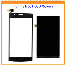 For Fly FS401 FS403 FS451 FS452 FS501 FS502 LCD Screen Display with Touch Screen Digitizer Replacement Free Shipping