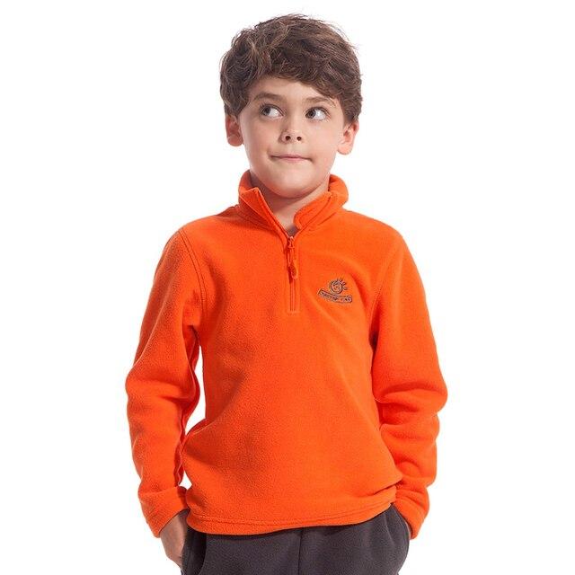 93010b72 Tectop Children Fleece Jacket Child Outdoor windproof thermal Jackets Boys  and Girls Winter Clothing