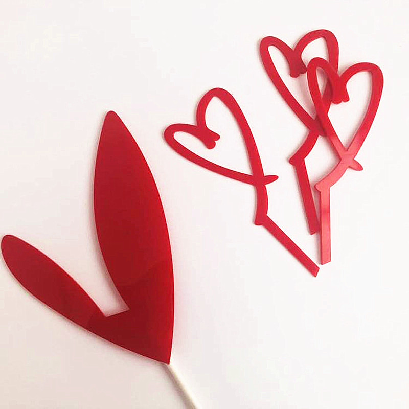 New-Acrylic-Cake-Topper-Gold-Silver-Red-Heart-Love-Acrylic-Cupcake-Topper-For-Wedding-Valentine-s (4)