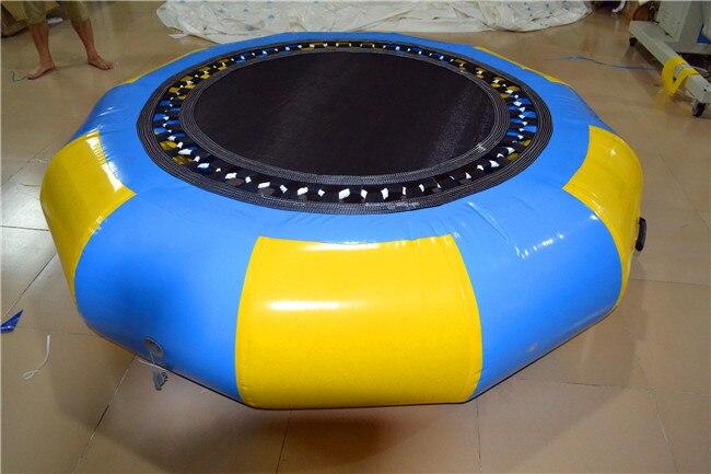Opustelige Trampolin 2m Trampolin Toy Producenter Skræddersyet Opblåsbar Udendørs Bounce